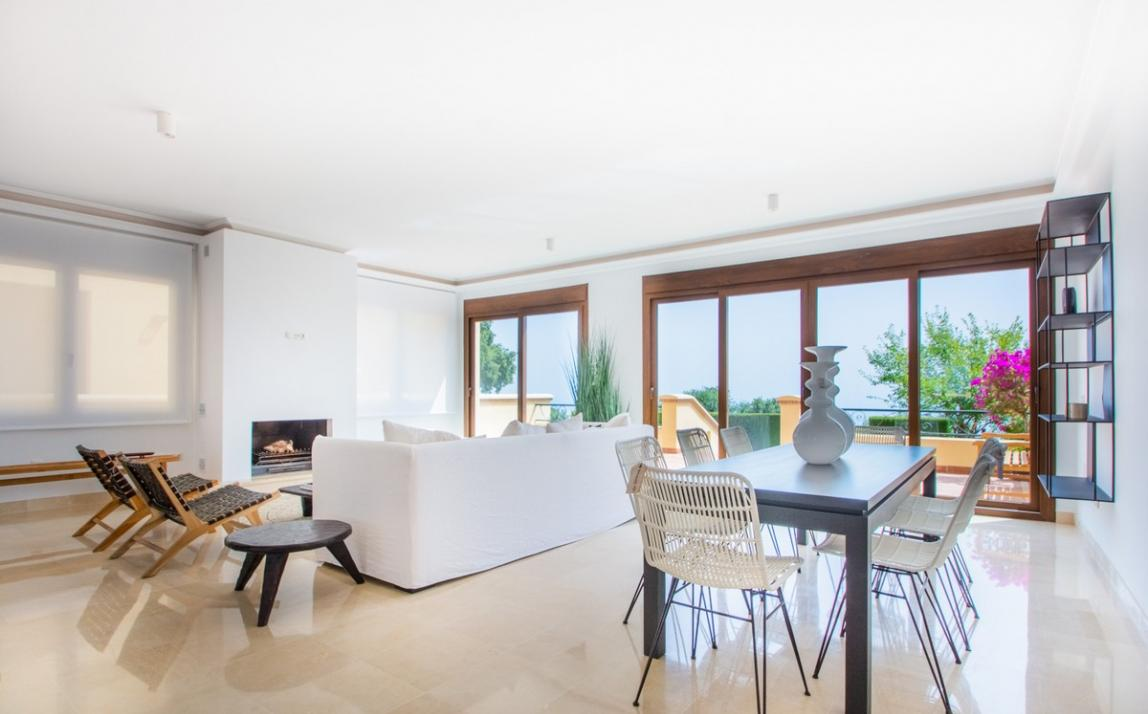 Spectacular Townhouse, south facing, La Mairena, in the hills above Marbella R3910717 1