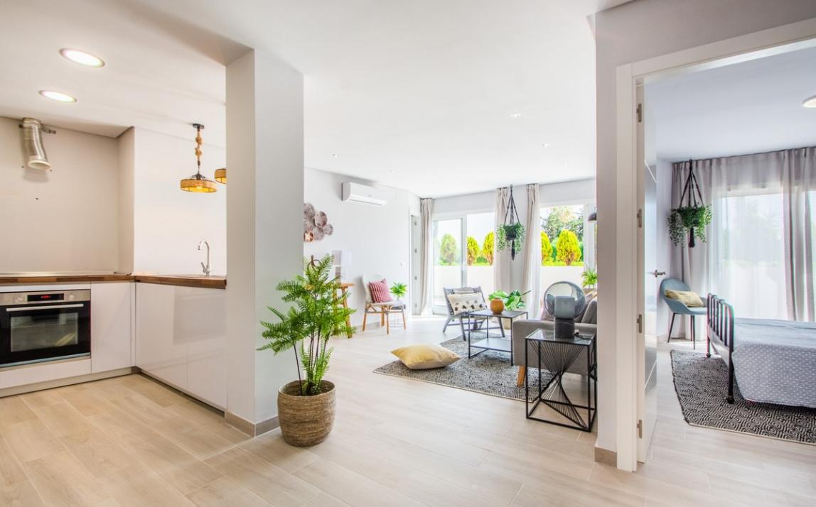Apartment - Ground Floor, FIRST LINE BEACH, Elviria MARBELLA, R3913909 1