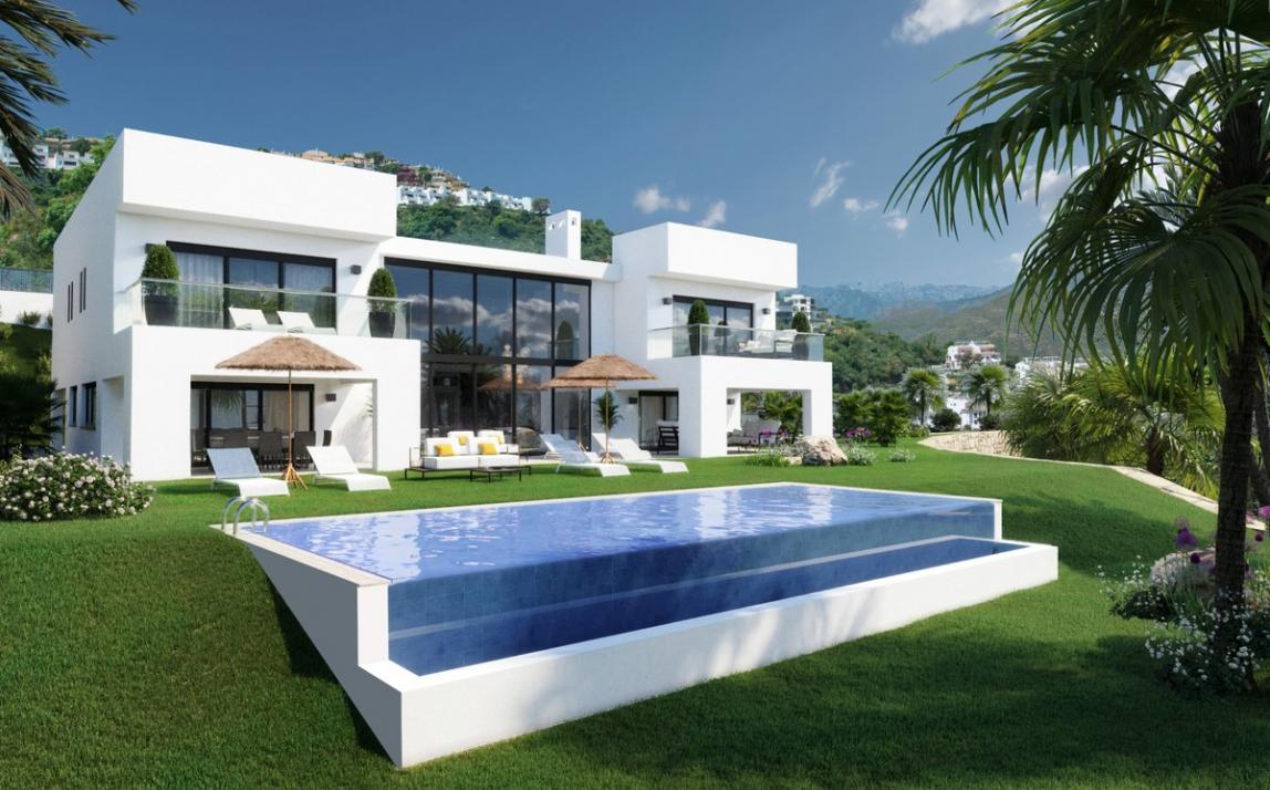 Villa - Detached, La Mairena Costa del Sol Málaga R3041024 1